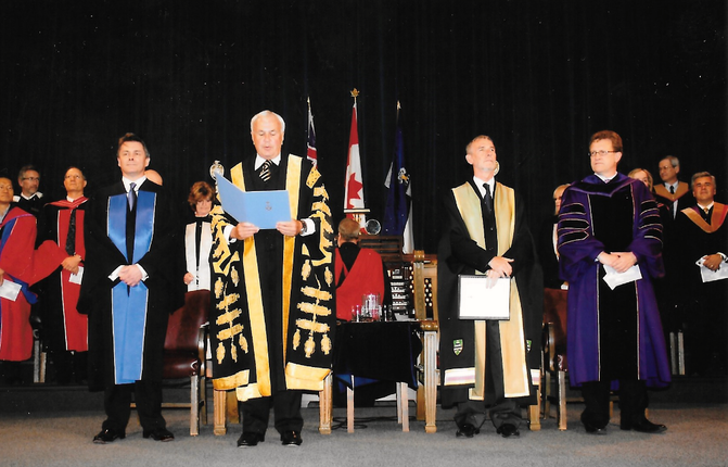 The Commerce & Management Faculty Convocation  Ceremony