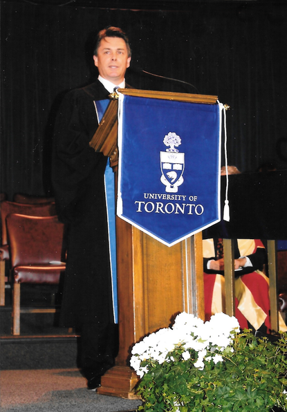 Robert Fotheringham joined UofT Commerce & Management Convocation Ceremony as a special Guest Speaker